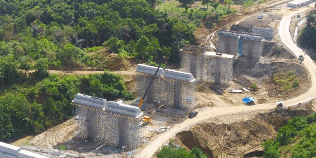 Pembangunan Main Bridge Jalan Tol Trans Sumatera Ruas Sigli Banda Aceh Seksi 2 Pt Amka Persero